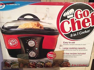 Go Chef 8 In 1 Kettle - Multifunctional Cooker