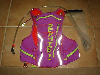 Nathan Racing Hydration Vest VaporAiress Used but NICE