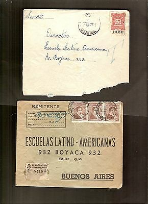 ARGENTINA lot of 20 COVERS LOT #24