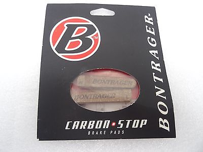 Bontrager Carbon Stop Cork Brake Pads Shoes Shimano SRAM L&R, NEW, FREE S&H