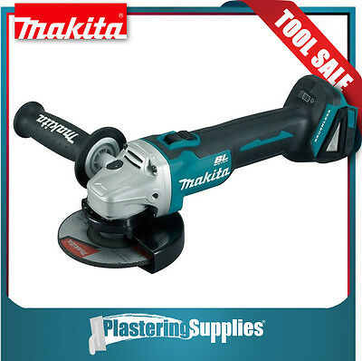 "Makita  Brushless  Angle Grinder with ThumbLock  5""  125mm  18V LXT DGA504"