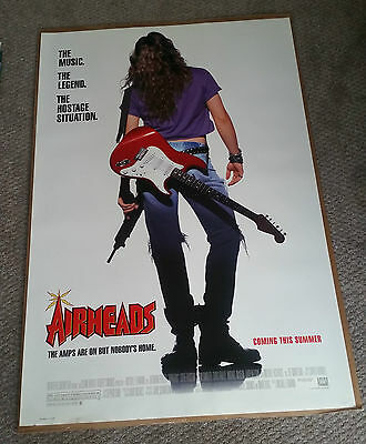 Airheads (1994) Original One Sheet Movie Poster 27x40 DS