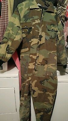 camo trailcrest insulated coveralls large