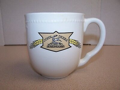 """John Deere-Moline Illinois"" Ceramic Coffee Mug Cup  VG CONDITION"