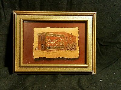 Coca Cola Small Framed Photo 1994 by Richard Neuman