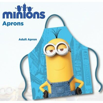 Minions Movie Adult Apron Brand New