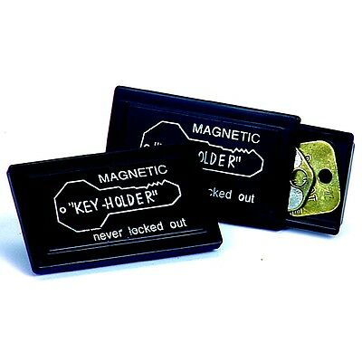 Magnetic Key Holder Magnetic Key Box Black Magnetic Key Holder (Can Be Buried!)