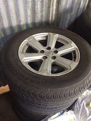 Kluger Rav 4 Hilux Alloy Wheels And Tyres Toyota Ford Nissan Mazda