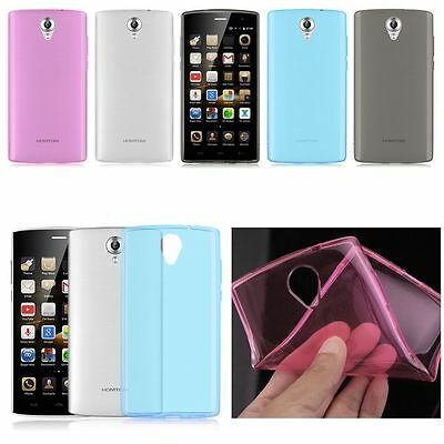Clear Soft TPU Gel Silicone Case Cover Skin For Doogee Homtom HT7 /HT7 Pro