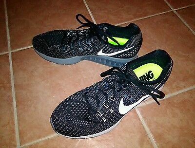 Nike mens sz 13 Air Zoom Structure 19 Running shoe *new* black/white/gray
