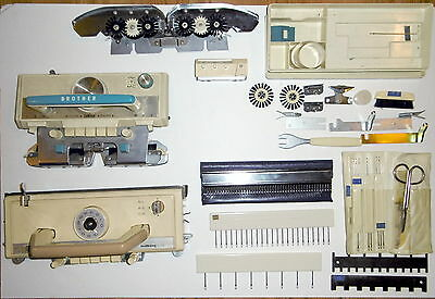 Brother Knitting Machine Carriages & Accessories & Tools See Photos