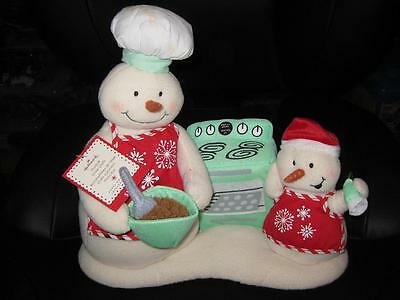 Hallmark Christmas Musical SNOW CHEFS 2008 Brand New with Tags Limited SnowCHEFS
