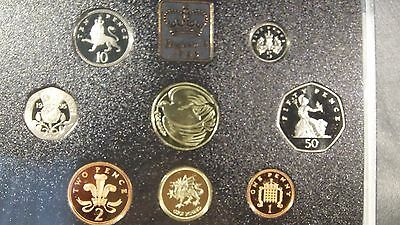 1995 United Kingdom Proof Coin Collection 8 coins in Original Packaging with COA
