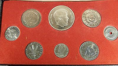 1967 Hungary 7 Coin Proof Set PS-6 Only 5,000 Sets Minted #1