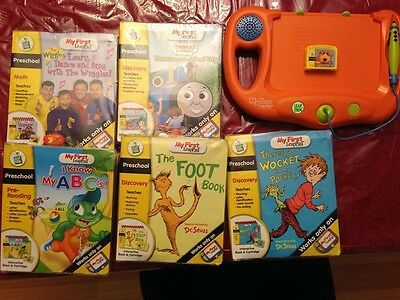 My First Leap Pad Learning System with GAMES