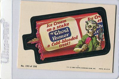 6 1980 TOPPS WACKY PACKAGES SERIES 4 CARDS ~ Putty, Ghoul Humor, Progreaso, More