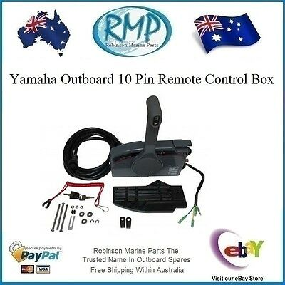 A Brand New Aftermarket Yamaha Remote Control Box 10 Pin Plug # R 703-48205-A3