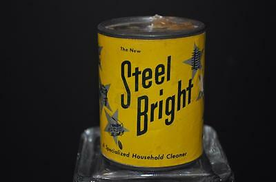 1950's Sample Tin Steel Bright Cleaner