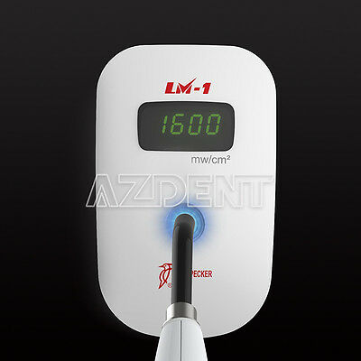 Woodpecker LM-1 Led & Halogen Dentaire LED Curing Light Meter Power Tester