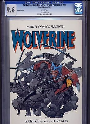 Wolverine Limited Series TPB CGC 9.6 White Pages 2nd PRINT Rare FRANK MILLER