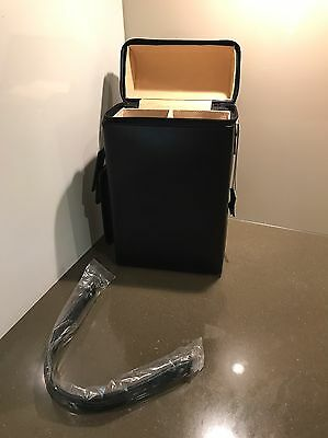 Genuine Bonded Leather Wine Carry Case