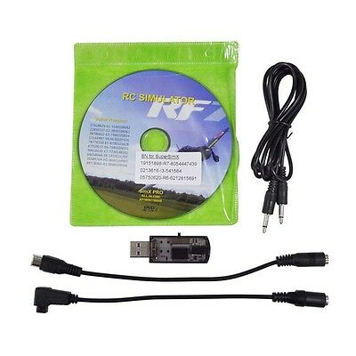 22in1 RC Drone USB Flight Simulator Cable For Real flight G7 G6 G5.5 G5 Simulato
