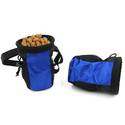 Pet Dog Puppy Snack Obedience Agility Bait Training Food Treat Pouch Bag Holder.