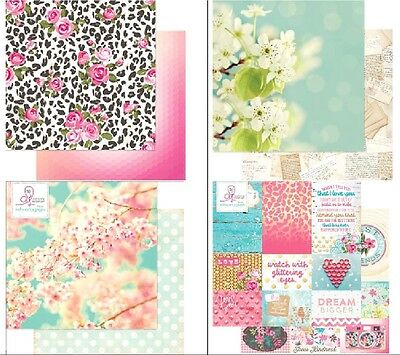 Webster's Pages Beautiful Chic 1x Scrappapier versch. Motive 30,5x30,5cm