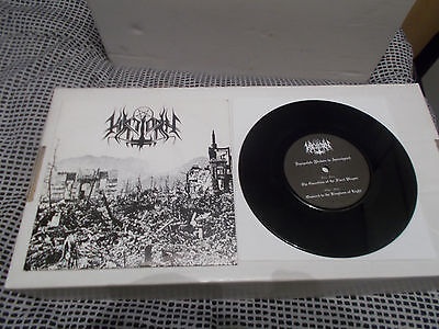 "HIRILORN Depopulate 7""  DEATHSPELL OMEGA members! 1999 EP RARE! only 333 copies!"