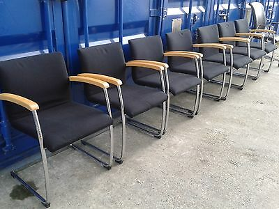 Boardroom Chairs, Visitor Chairs - Set of 7 Chairs