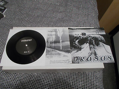 "SPLEEN Drudsus 7"" EP Ltd 600 copies! 1997 Sombre Records RARE! BLACK METAL"