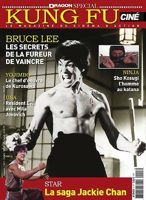 BRUCE LEE LA FUREUR DE VAINCRE The chinese connection FRENCH MAG CINE KUNG FU #3