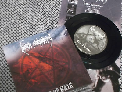 "NAER MATARON / VOICE OF HATE Split 7"" EP Ltd 666 copies! BLACK METAL"