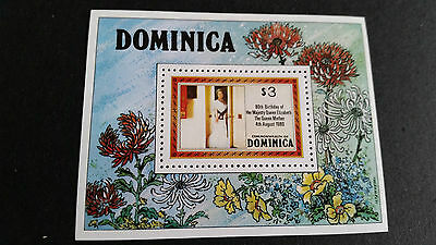 Dominica 1980 Sg Ms734 80Th Birthday Of Queen Mother. Mnh