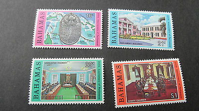 Bahamas 1979 Sg 545-548 250Th Anniv Of Parliament. Mnh