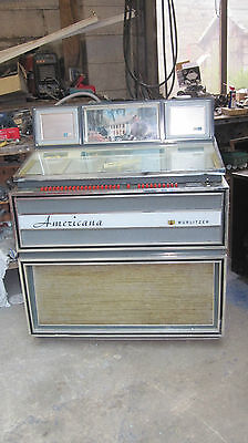 1968 Wurlitzer Americana Jukebox Project Can Deliver