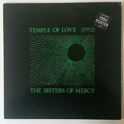"""THE SISTERS OF MERCY - TEMPLE OF LOVE - Orig UK East West 12"""""""