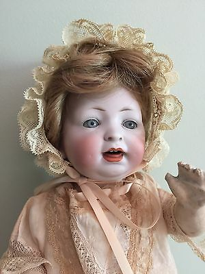 """Antique Doll Louis Wolfe & Co Bisque On A Comp Body 13"""""""