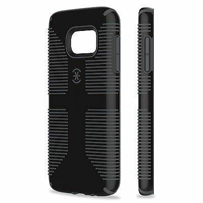 Speck Candyshell Grip Case Cover For Samsung Galaxy S7 Edge G935 - Black / Grey