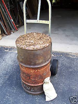 1 x 50 = 50 pieces of UNSEARCHED WHEAT PENNIES, INDIAN CENTS one roll