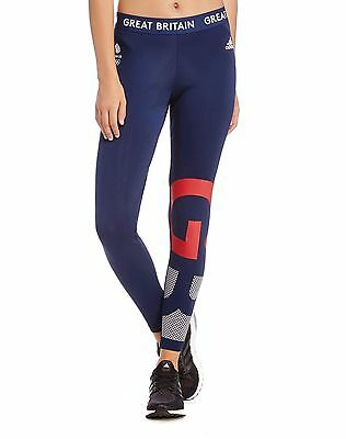 Womens Adidas Team Gb Rio 2016 Village Wear Tights - Bnwt- Size Xs,s,m  Last 3