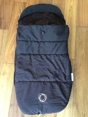 Black Bugaboo Universal Footmuff Good Condition