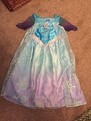 Age 3-4 Elsa Dress Up Dress In Excellent Used Condition