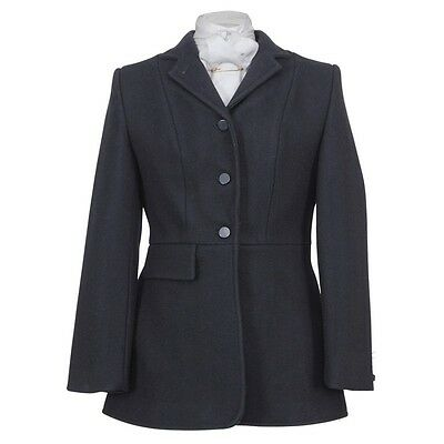 Shires Clifton Ladies Hunting Coat/ Jacket- Black Size 44""