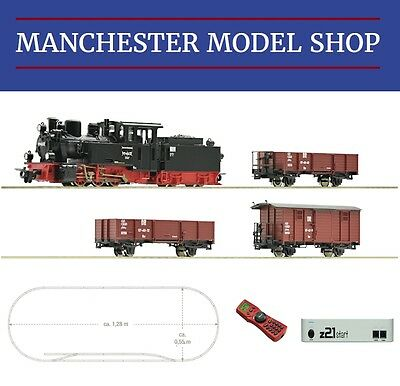 "Roco 31031 HOe 009 1:87 DR Steam Freight ""DCC DIGITAL"" z21 STARTER SET NEW"
