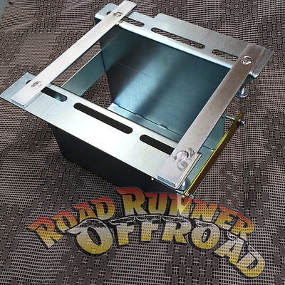 Universal under tray Dual Battery Tray Aux 2nd Battery