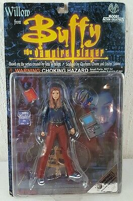 """""""NEW"""" Willow Action Figure  Buffy the Vampire Slayer  CM 9032 Exclusive MAC"""