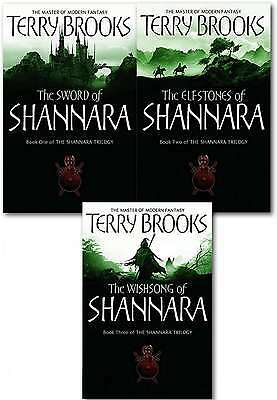 Shannara Chronicles Series Terry Brooks 3 Books Collection Set (The Sword Of Sha