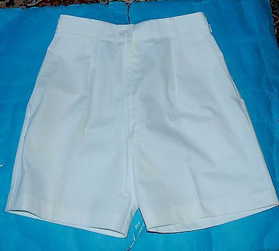 Royal Navy Wren Officers Tropical Shorts With Side Fasteners.