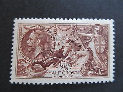 Sg450 2/6   Chocolate Brown  Very Lightly Mounted Mint